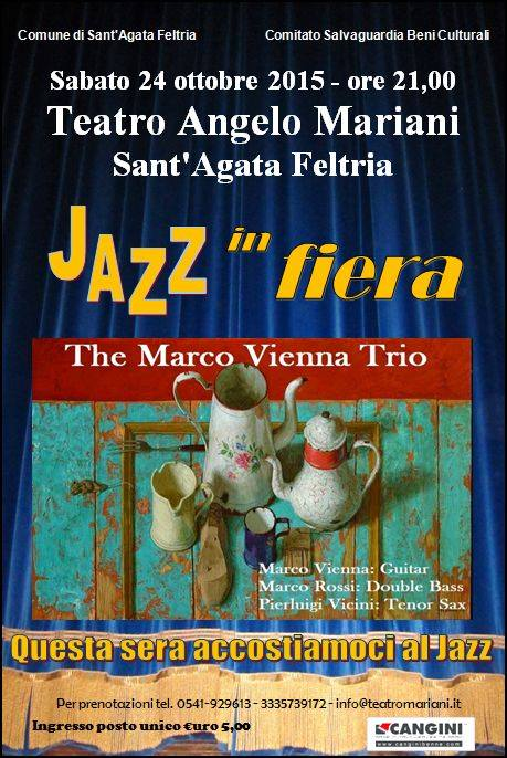 Teatro: Jazz in fiera