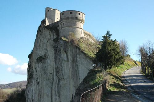 Il Castello a San Leo in Provincia di Rimini